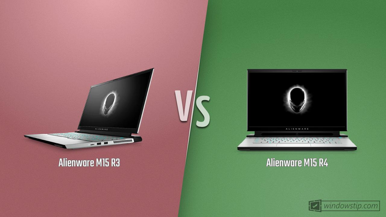 Alienware M15 R3 vs. Alienware M15 R4