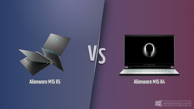 Alienware M15 R5 vs. Alienware M15 R4