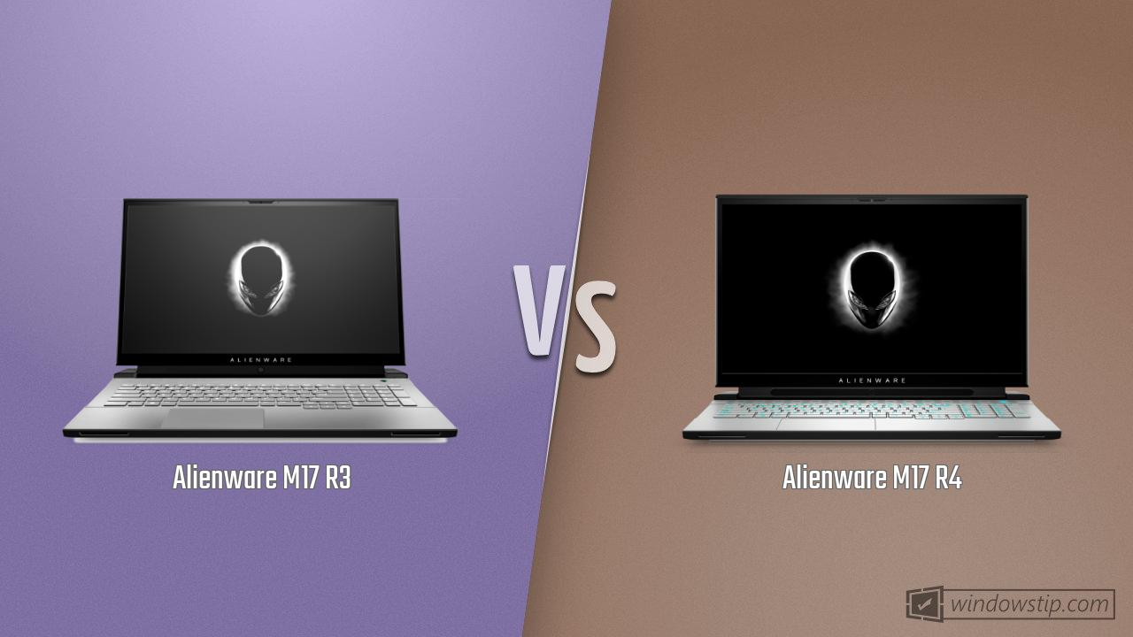 Alienware M17 R3 vs. Alienware M17 R4