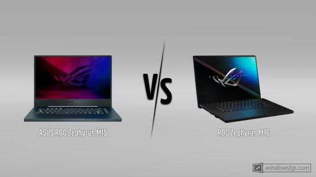 ASUS ROG Zephyrus M15 vs. ASUS ROG Zephyrus M16