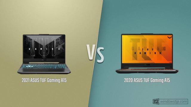 ASUS TUF Gaming A15 (2021) vs. ASUS TUF Gaming A15 (2020)