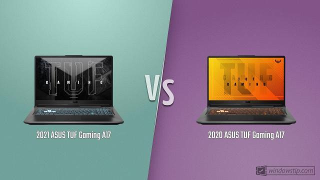 ASUS TUF Gaming A17 (2021) vs. ASUS TUF Gaming A17 (2020)
