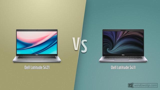 Dell Latitude 5421 vs. Dell Latitude 5411