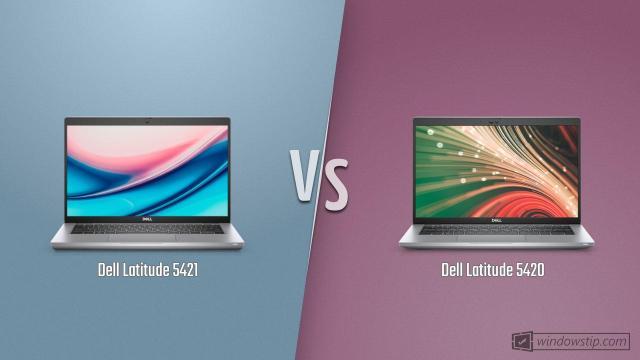 Dell Latitude 5421 vs. Dell Latitude 5420