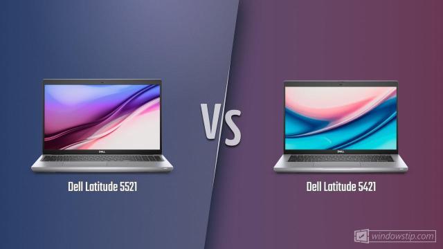 Dell Latitude 5521 vs. Dell Latitude 5421