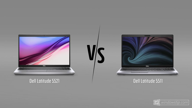 Dell Latitude 5521 vs. Dell Latitude 5511