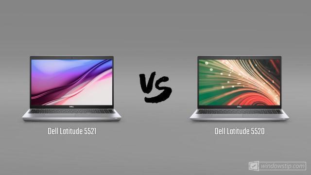 Dell Latitude 5521 vs. Dell Latitude 5520