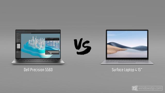 """Dell Precision 5560 vs. Surface Laptop 4 15"""""""