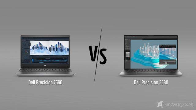 Dell Precision 7560 vs. Dell Precision 5560