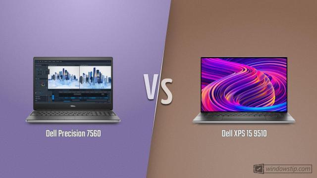 Dell Precision 7560 vs. Dell XPS 15 9510