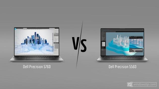 Dell Precision 5760 vs. Dell Precision 5560