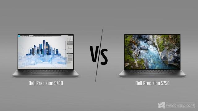 Dell Precision 5760 vs. Dell Precision 5750