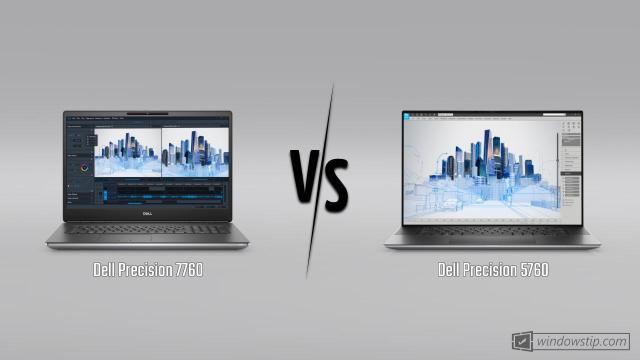 Dell Precision 7760 vs. Dell Precision 5760