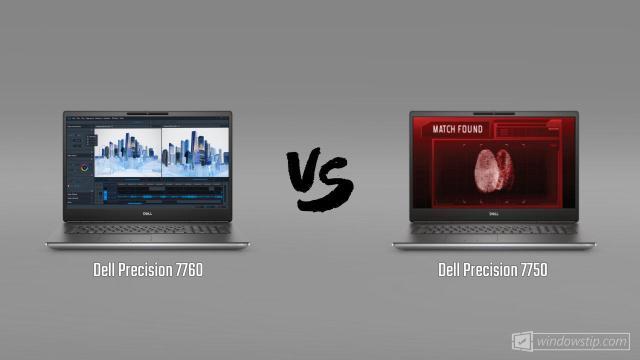 Dell Precision 7760 vs. Dell Precision 7750