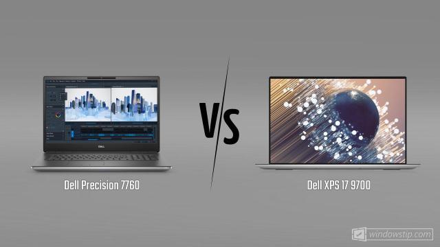Dell Precision 7760 vs. Dell XPS 17 9700