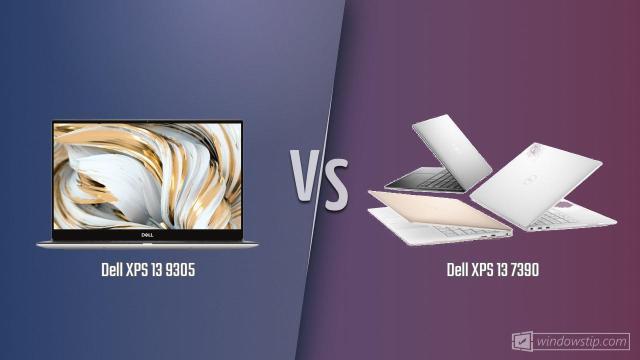 Dell XPS 13 9305 vs. Dell XPS 13 7390