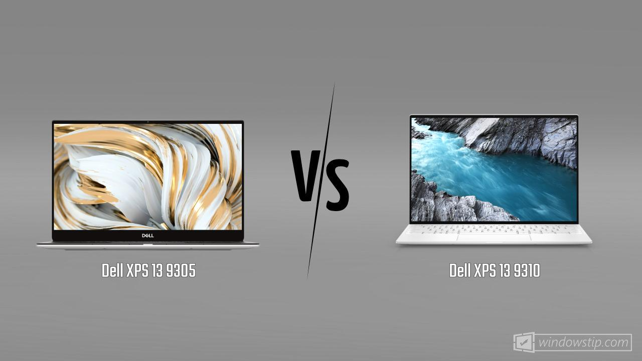 Dell XPS 13 9305 vs. Dell XPS 13 9310