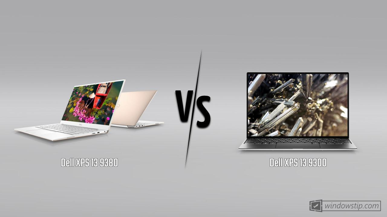 Dell XPS 13 9380 vs. Dell XPS 13 9300: Full specs comparison