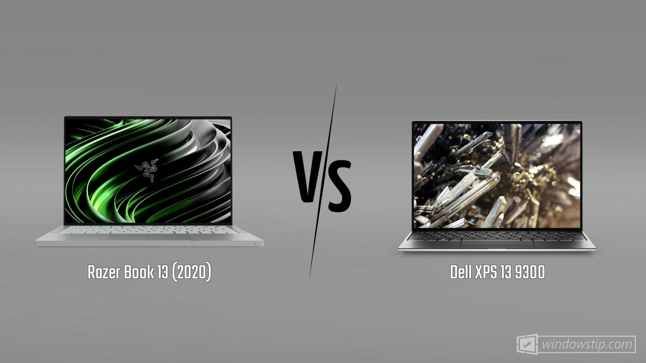 Razer Book 13 (2020) vs. Dell XPS 13 9300