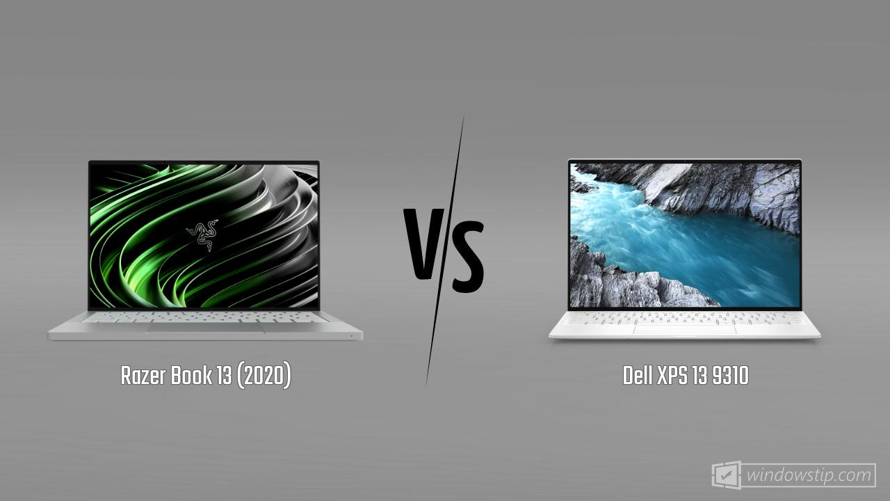 Razer Book 13 (2020) vs. Dell XPS 13 9310