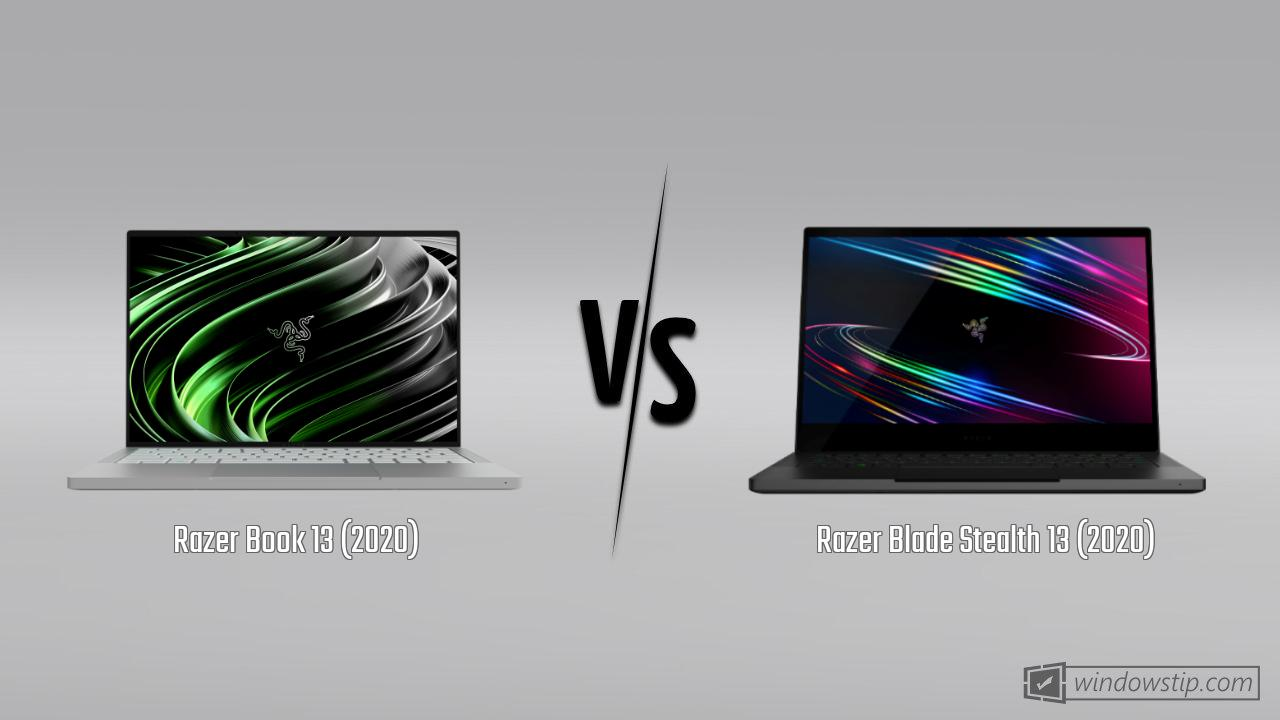 Razer Book 13 (2020) vs. Razer Blade Stealth 13 (2020)