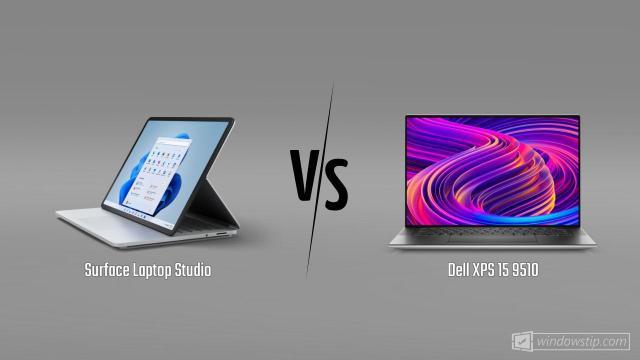 Surface Laptop Studio vs. Dell XPS 15 9510