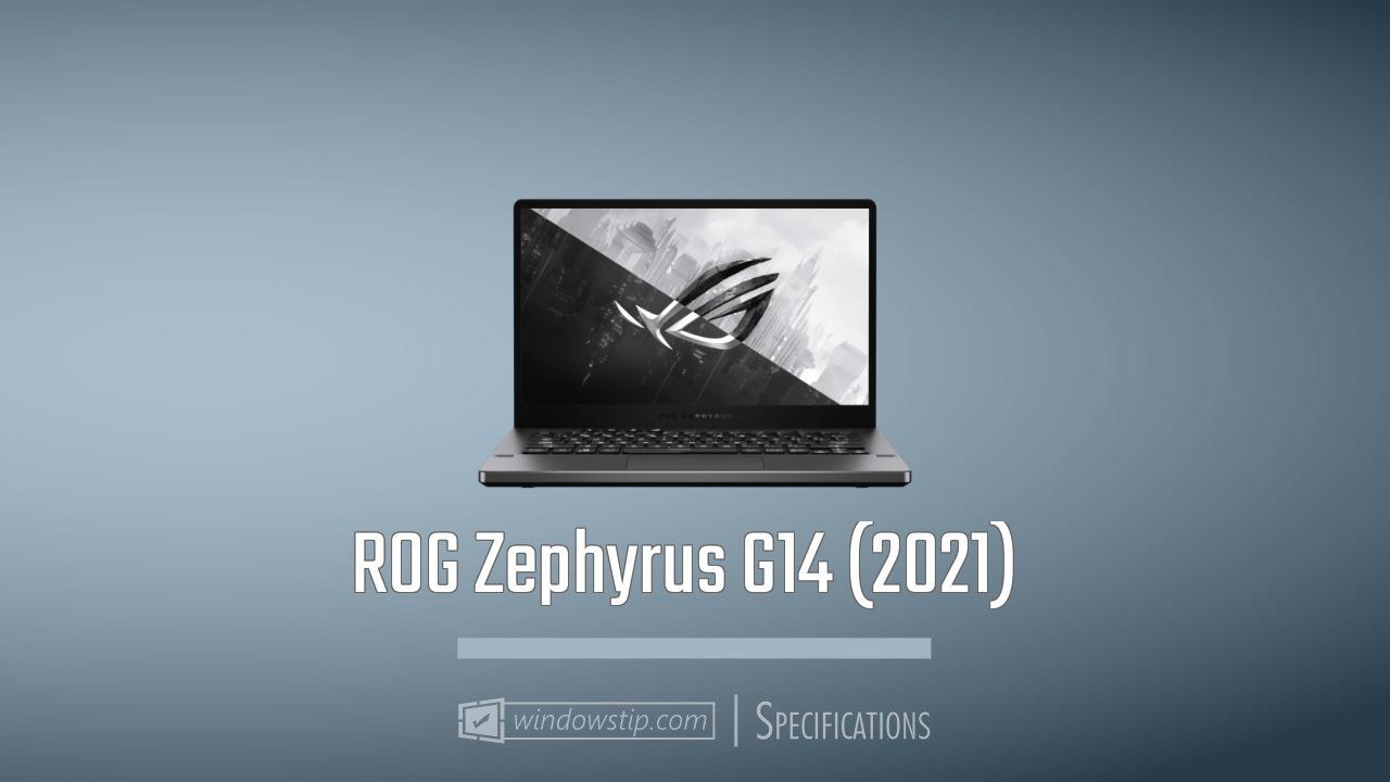 ROG Zephyrus G14 (2021)