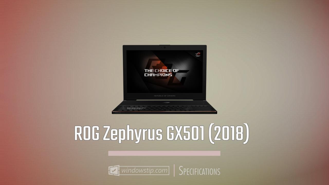 ROG Zephyrus GX501 (2018)