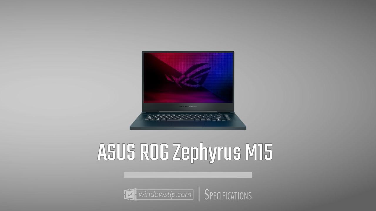ASUS ROG Zephyrus M15