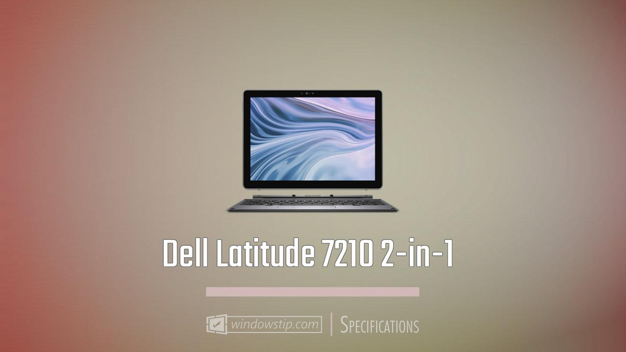 Dell Latitude 7210 2-in-1