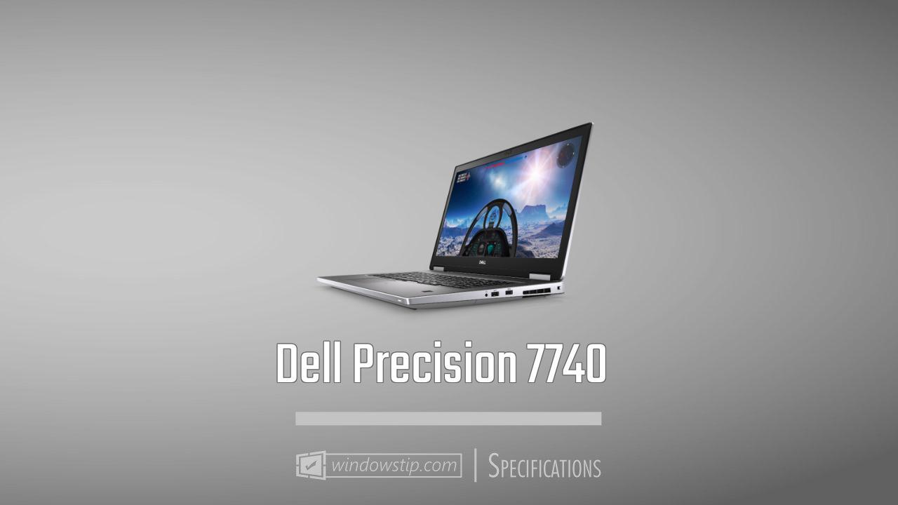 Dell Precision 7740
