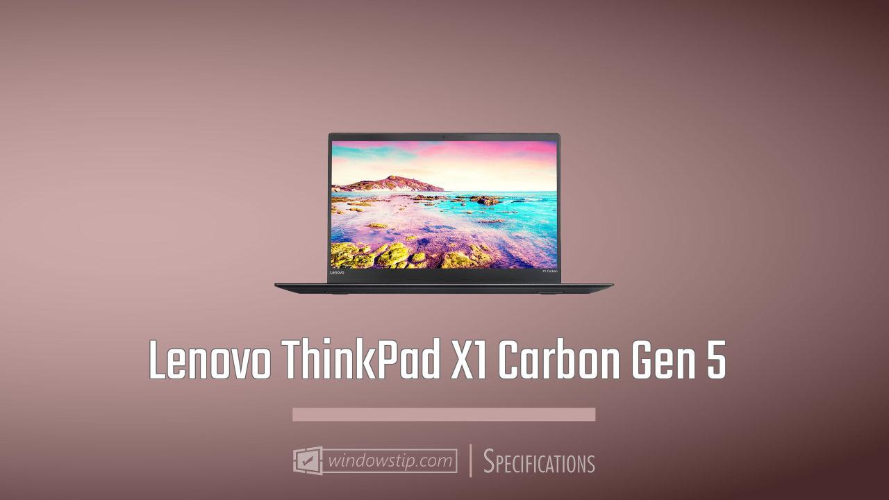 Lenovo ThinkPad X1 Carbon Gen 5