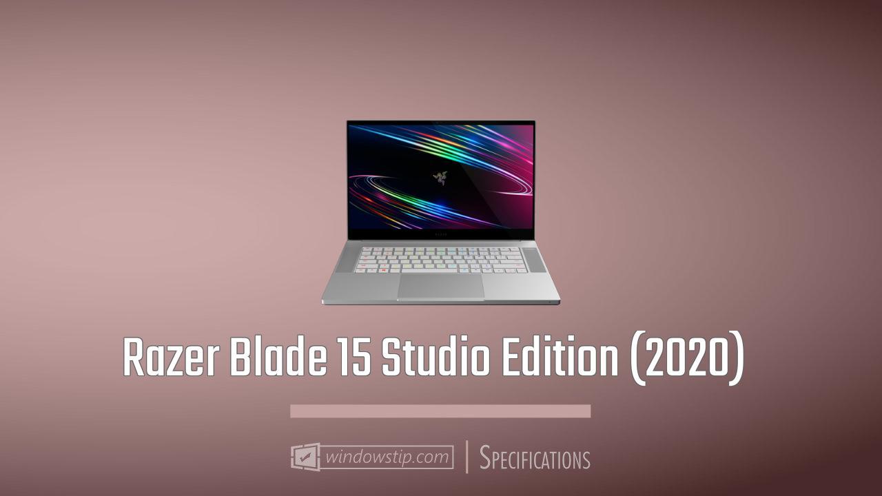 Razer Blade 15 Studio Edition (2020)