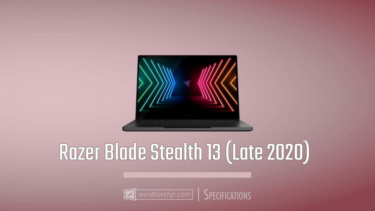 Razer Blade Stealth 13 (Late 2020)